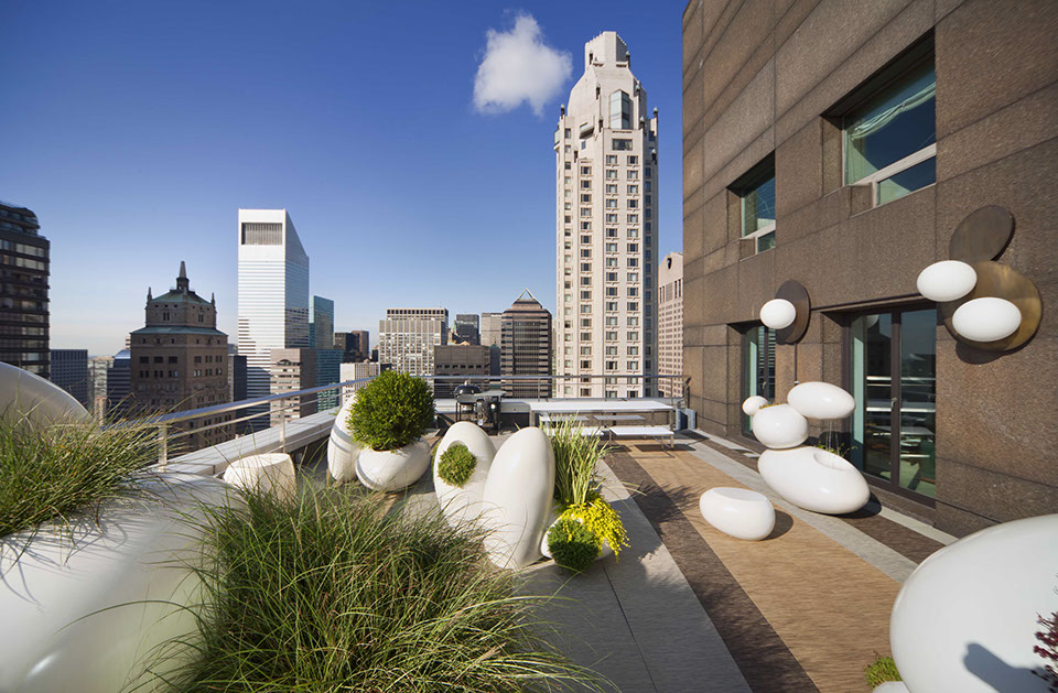 Park Avenue Penthouse Terrace